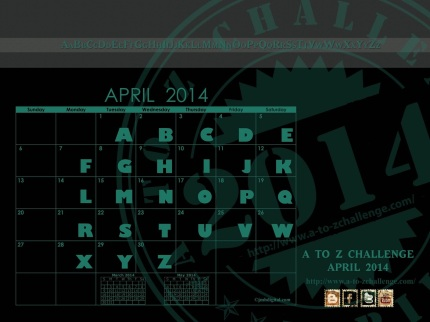APRIL-CALENDAR [2014] - updated
